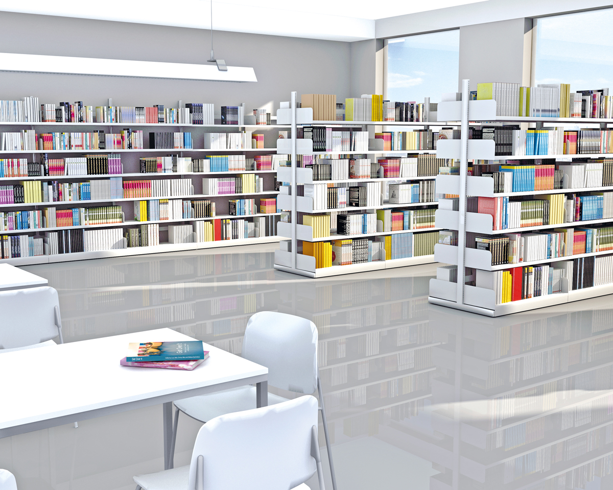 Bibliotheks-Regal Univers | Kerkmann Office Design – Büromöbel aus ...