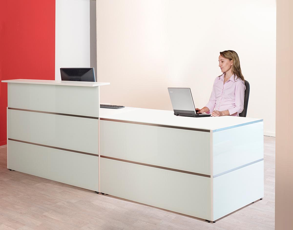 Theke Atlantis | Kerkmann Office Design – Büromöbel aus Bielefeld