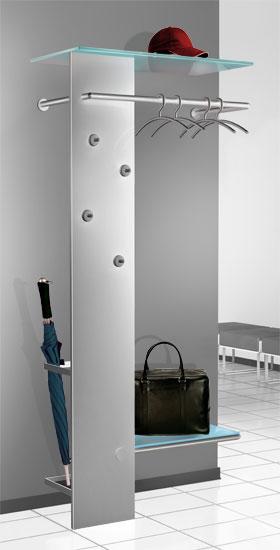 Wandgarderobe Glas Satiniert.Garderobe Kent Kerkmann Office Design