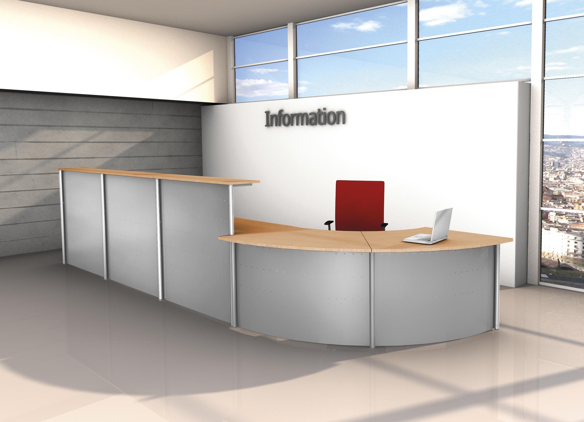 Kompakt-Theke Genua | Kerkmann Office Design – Büromöbel aus Bielefeld